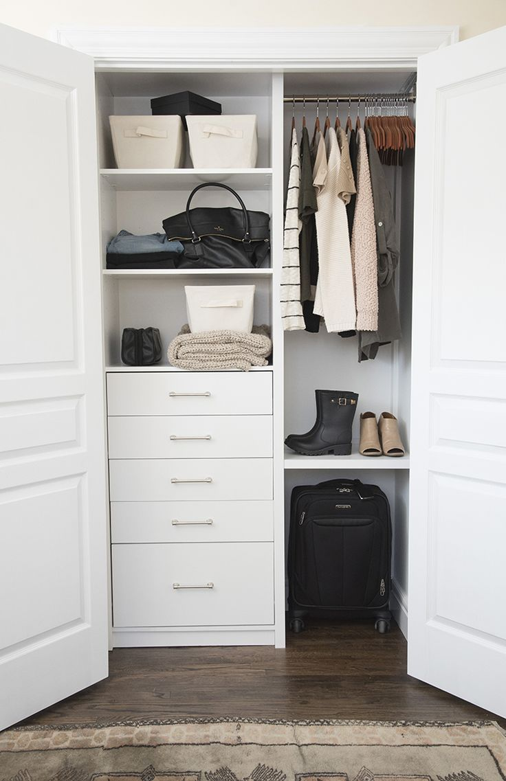 Good A Custom Closet For The Guest Room