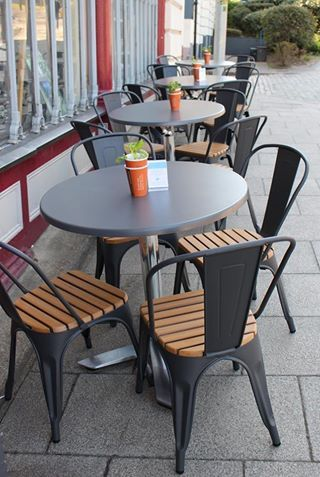 We have brand new tables and chairs outside the store ready for you to enjoy some beautiful sunny lunches.
