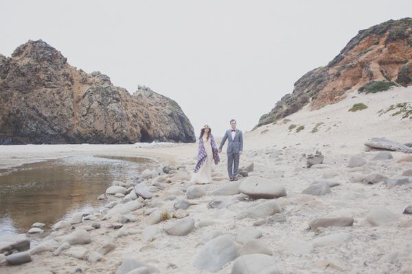 Bohemian Big Sur Wedding. Perfection