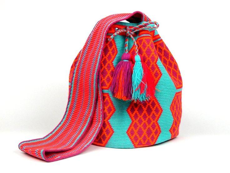 Pink Flamingo Wayuu - Buy in Colombian Handicrafts