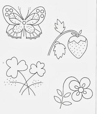 Puntadas Para Bordado A Mano Y Patrones Gratis Embroidery