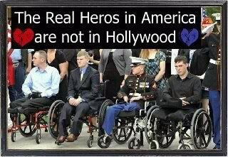 America's heros are not in Hollywood or Washington - especially not in the big White House