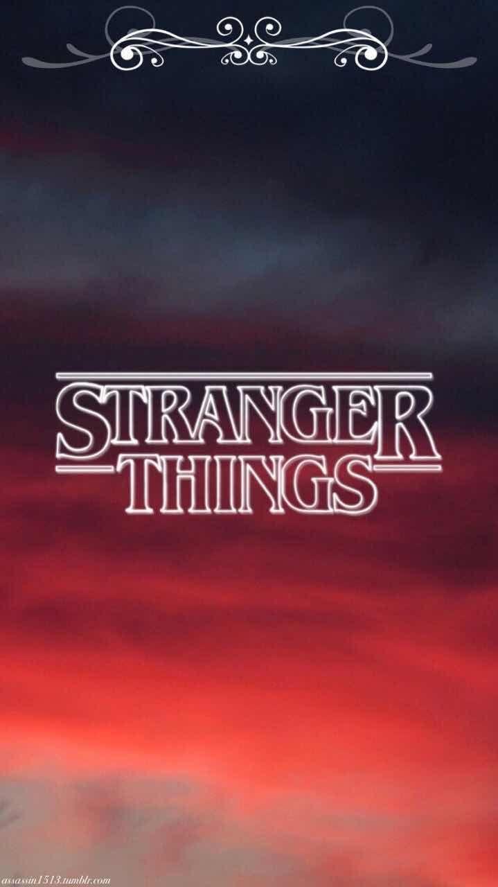 Stranger Things Logo Iphone Wallpaper