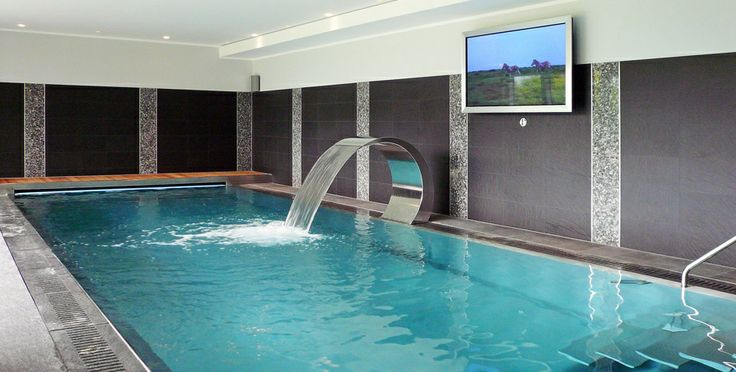 the 25 best indoor swimming pools ideas on pinterest. Black Bedroom Furniture Sets. Home Design Ideas