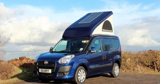 fiat doblo based wheelhome skurry car based campers pinterest fiat doblo and small motorhomes. Black Bedroom Furniture Sets. Home Design Ideas