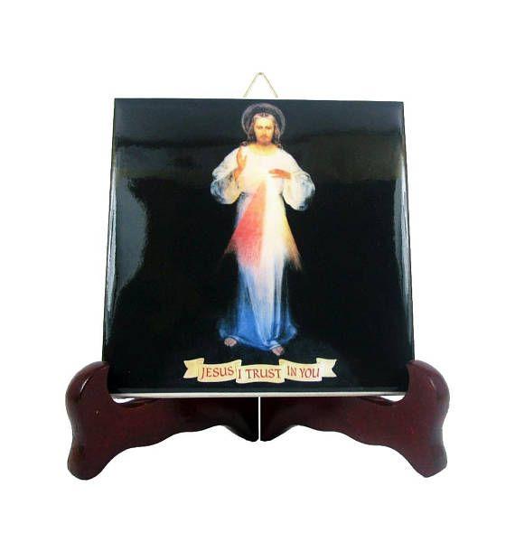 Guarda questo articolo nel mio negozio Etsy https://www.etsy.com/it/listing/230798465/catholic-gift-jesus-christ-of-divine