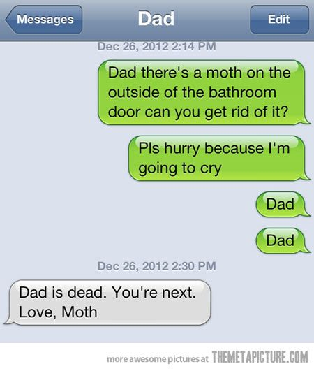 Texts to Dad
