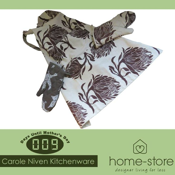 Spoil your mother this Mother's Day with Carole Niven kitchen ware available at Home-Store. Hurry, there are only 9 days left until #MothersDay #kitchenware