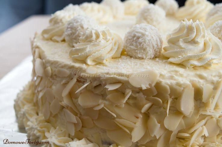 Tort kokosowy ala Raffaello