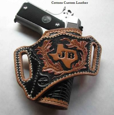 Bang bang: leather holster