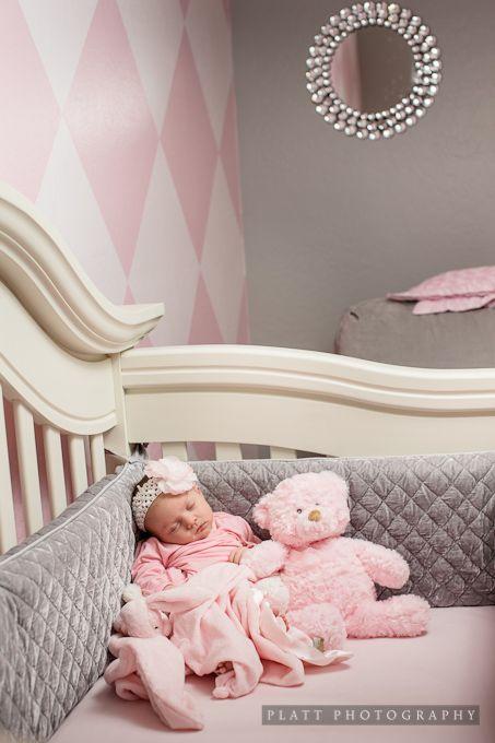 Gray & Pink Nursery.