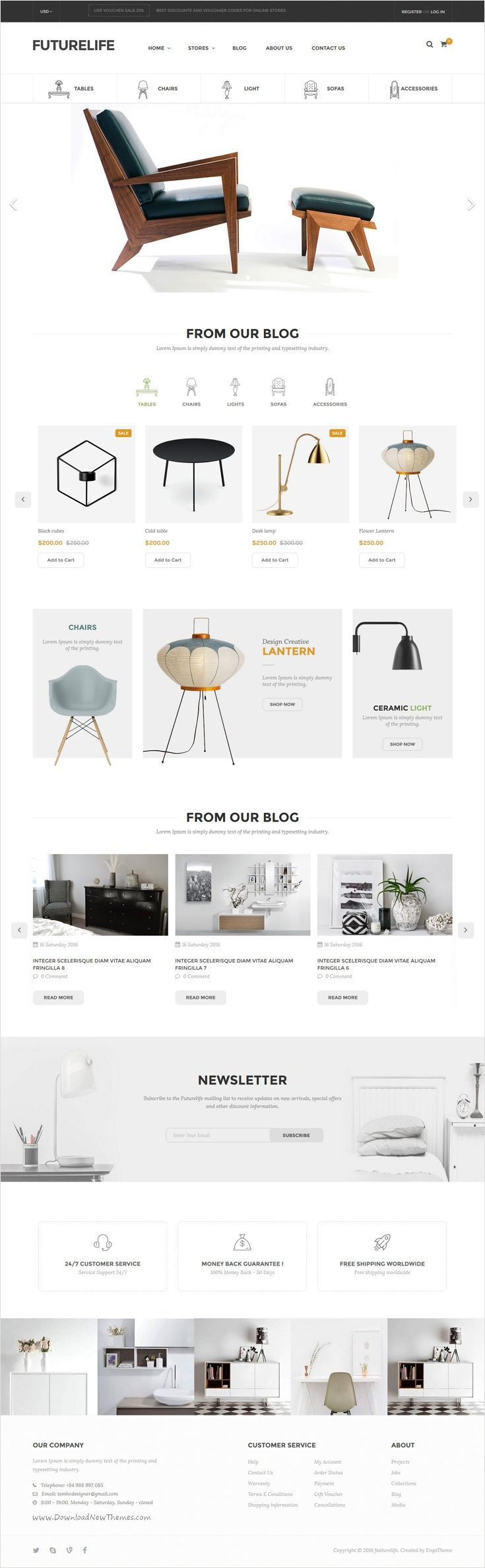 Futurelife is modern design elegant @shopify theme for multipurpose #furniture #shop eCommerce website with 5 different homepage layouts download now➩ https://themeforest.net/item/futurelife-ecommerce-responsive-shopify-theme/17387835?ref=Datasata