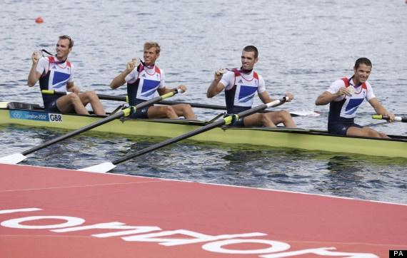 Rowing: Chris Bartley stroked the boat, with Richard Chambers, Rob Williams and Peter Chambers as bow, this order gave team GB the Silver Medal in the Mens Lightweight four!