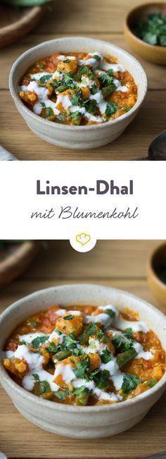Unser Dhal mit Curry und knackigem Gemüse ist perfekt für alle, die wenig Zeit und Lust auf ganz viel Aroma haben.
