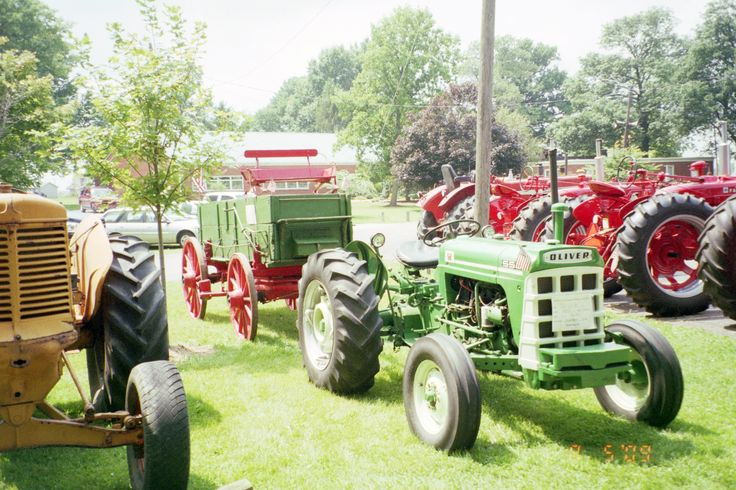 550 Oliver Tractor With Loader : Images about oliver tractors equipment on