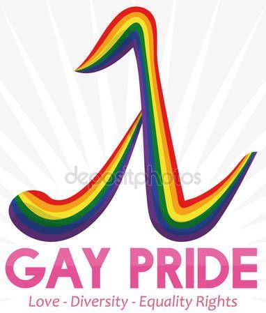 Colorful Lambda Symbol and Some Precepts for Gay Pride