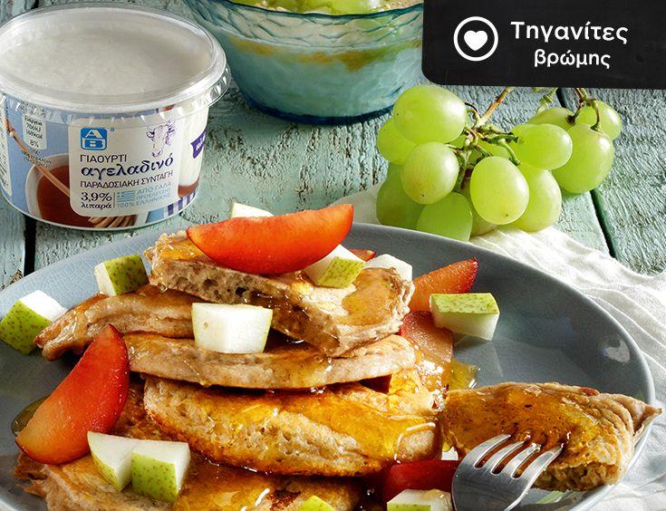 Πειραματίσου με συνταγές βασισμένες στην Μεσογειακή διατροφή! Αφράτες τηγανίτες με βρώμη και ασπράδι, από το τελευταίο #ΑΒFoodStories!