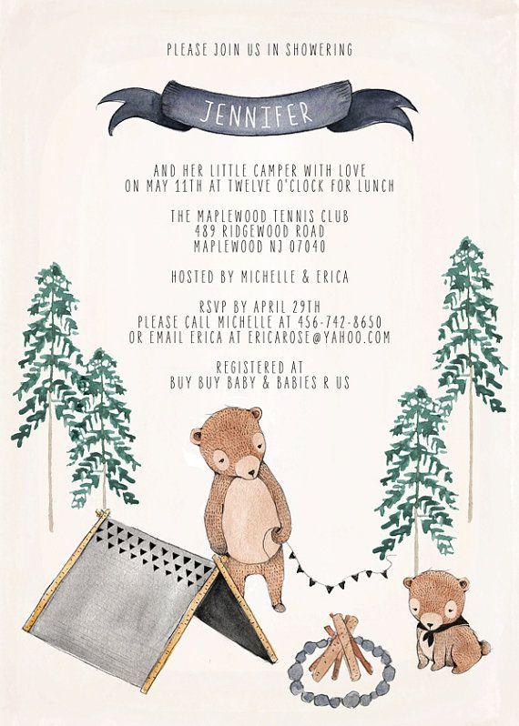Baby Shower o invitación de cumpleaños de bebé por KelliMurrayArt