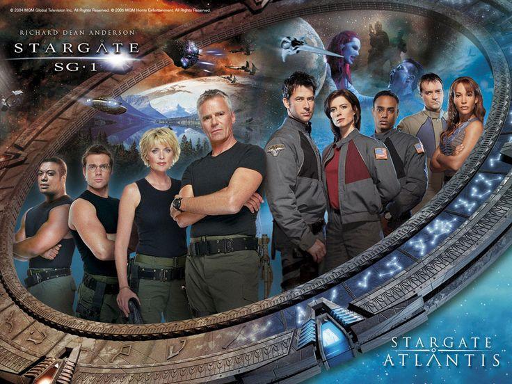Cast of Stargate SG1 and Atlantis