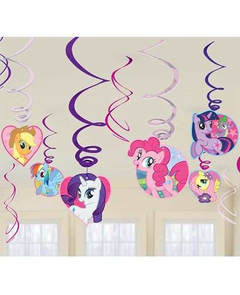 My Little Pony Friendship Hanging Decorations