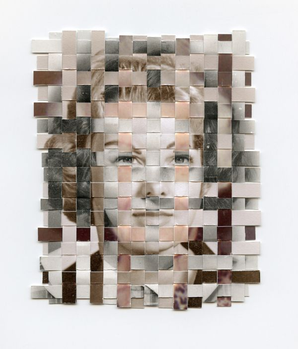 Greg Sand photo weaving distortion: ap photo, fragmented cubist portraits