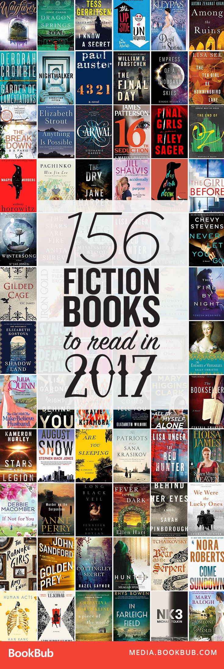 156 awesome books to read in 2017. Add all of these to your 2017 reading list!