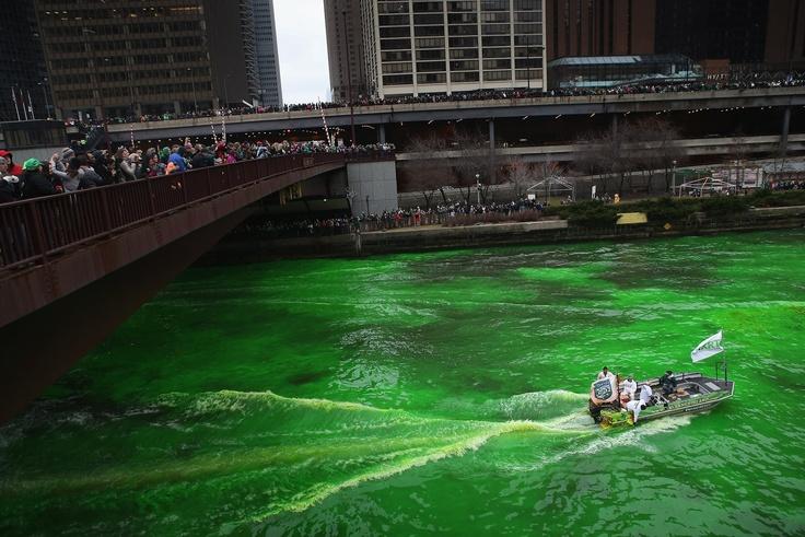 Chicago Saint Patricks Day