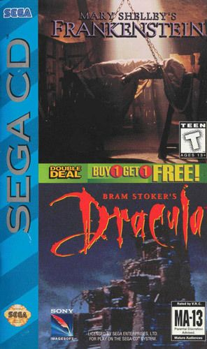Mary Shelley's Frankenstein/Bram Stoker's Dracula - Sega CD