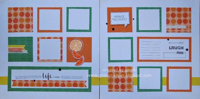 Gina's Little Corner of StampinHeaven: Taste of Summer - Orange You Sweet  #CTMHTOS