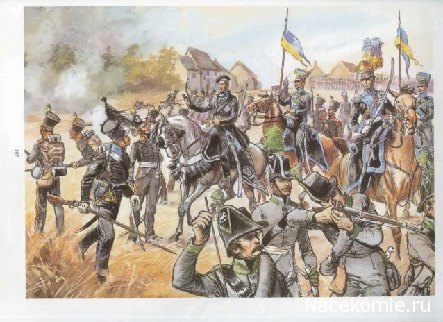 Duke of Brunswick Quatre Bras 1815 - minutes away from his death
