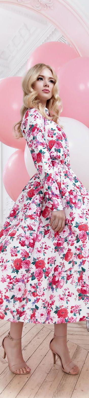 Excepcional Vestidos De Dama De época Florales Colección de Imágenes ...