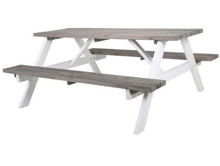 Picknicktisch Colville Aus Massivholz Picknicktisch Tisch