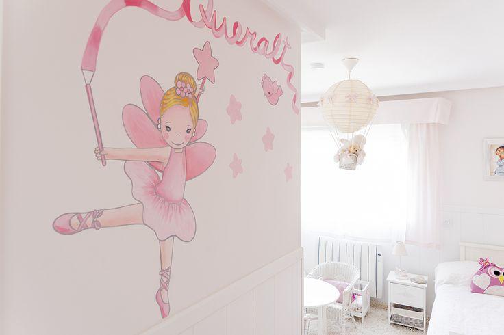 38 mejores im genes sobre murales en pinterest vinilos for Vinilos decorativos habitacion nina