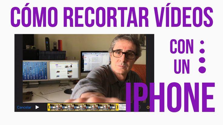 Cómo Recortar Vídeos con iPhone - PARA PRINCIPIANTES EN YOUTUBE