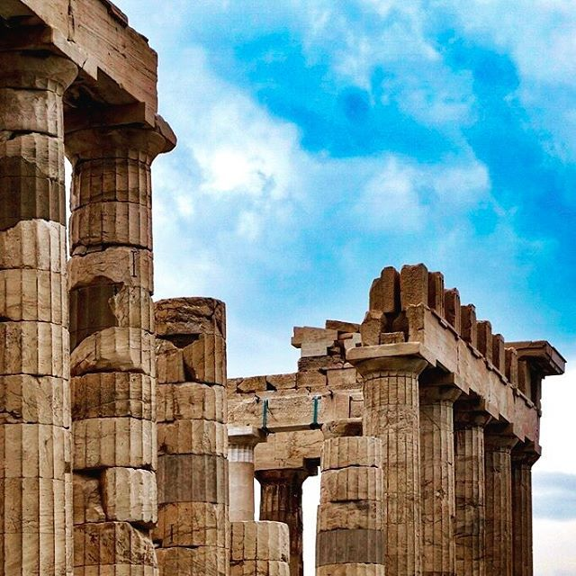 Detail of the Parthenon in Athens, Greece⠀  ⠀  ⠀  ⠀  #acropolis #ruin #ruins #columns #ancient #parthenon #athens #greece⠀  ⠀   #architecture #building #architecturelovers #architecturephotography #architectureporn #architexture #architecturaldetail #architecturaldetail⠀  ⠀   #travel #travelgram #wanderlust #travephotography