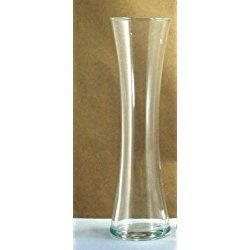 """Personalized 7.5"""" Tall Curved Bud Vase"""