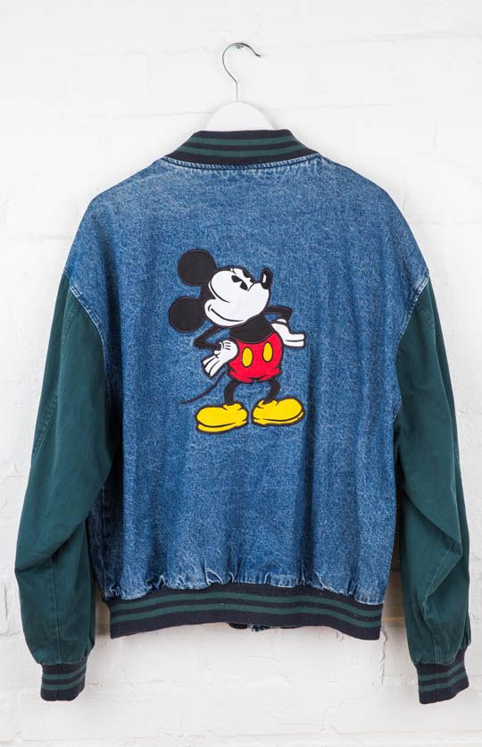 PEPPERMAYO // Vintage Denim Mickey Mouse Jacket