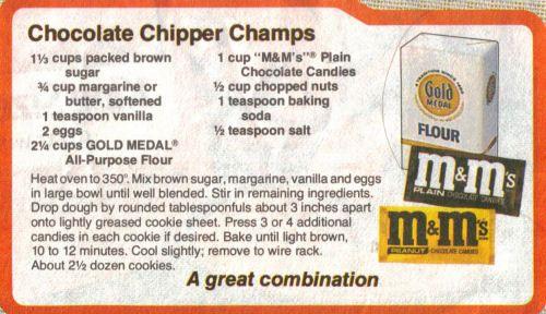 Chocolate Chipper Champs Recipe