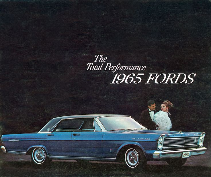Auto Brochure 1965 Ford