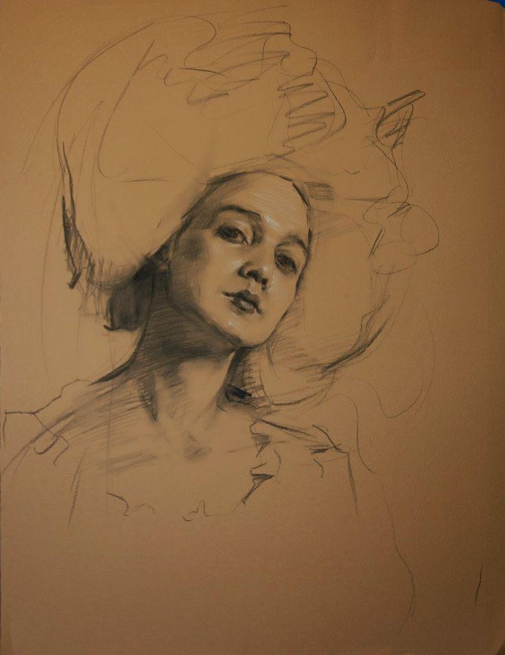 The Artwork of Teresa Oaxaca #drawing