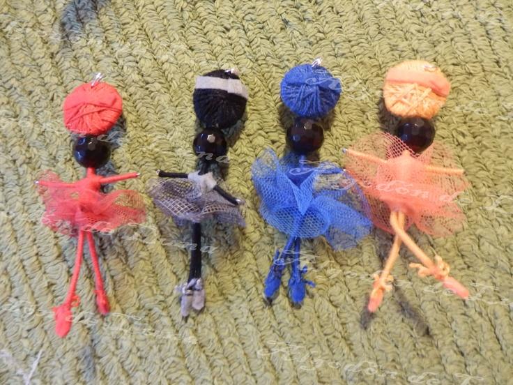 Bailarina de ónixs broche colgante de Algodón de Luna  con nuestra perla
