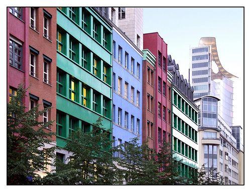 Berlin, Quartier Schützenstrasse, Aldo Rossi