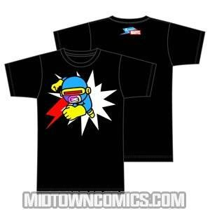 Marvel Cyclops Optic Blast Black T-Shirt   by Tokidoki