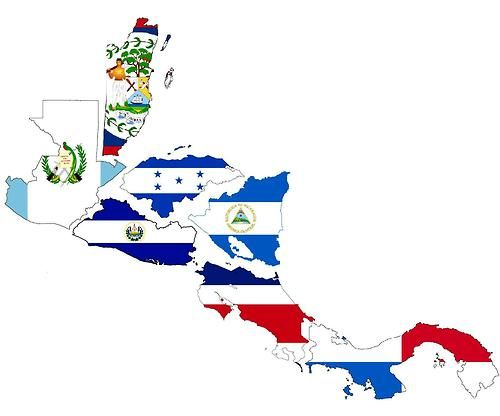 Central American Flags |