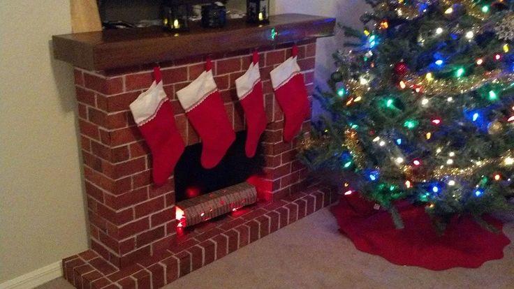 Cardboard Fireplace - Imgur