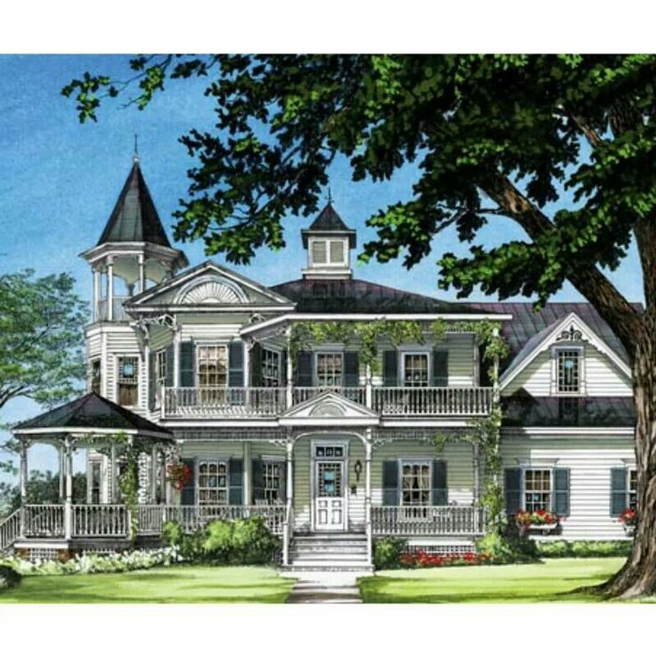 Farmhouse Southern Victorian House Plan 86291 Elevation