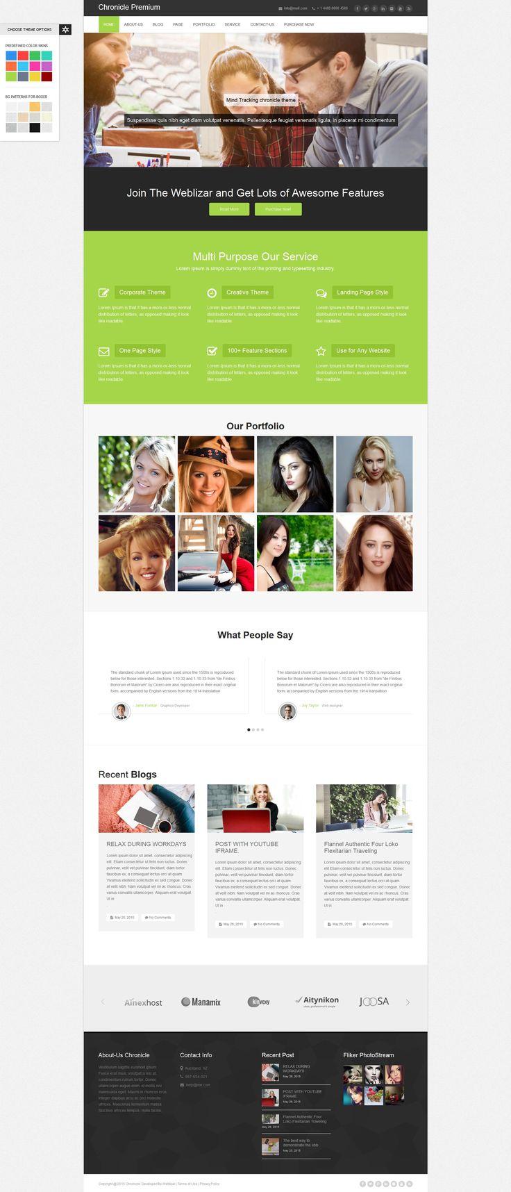 Chronicle Premium WordPress Theme