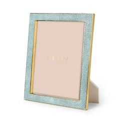 Classic Shagreen 8x10 Frame - null Visit AERIN.com to explore the full collection.