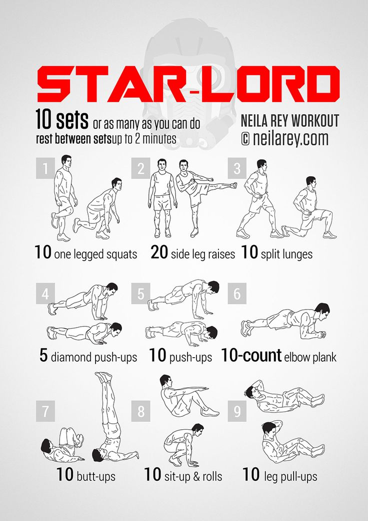 Star-Lord Workout | neilarey.com | #fitness #bodyweight