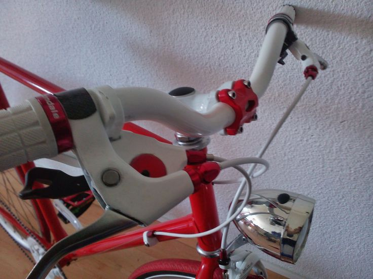 Red and white cockpit
